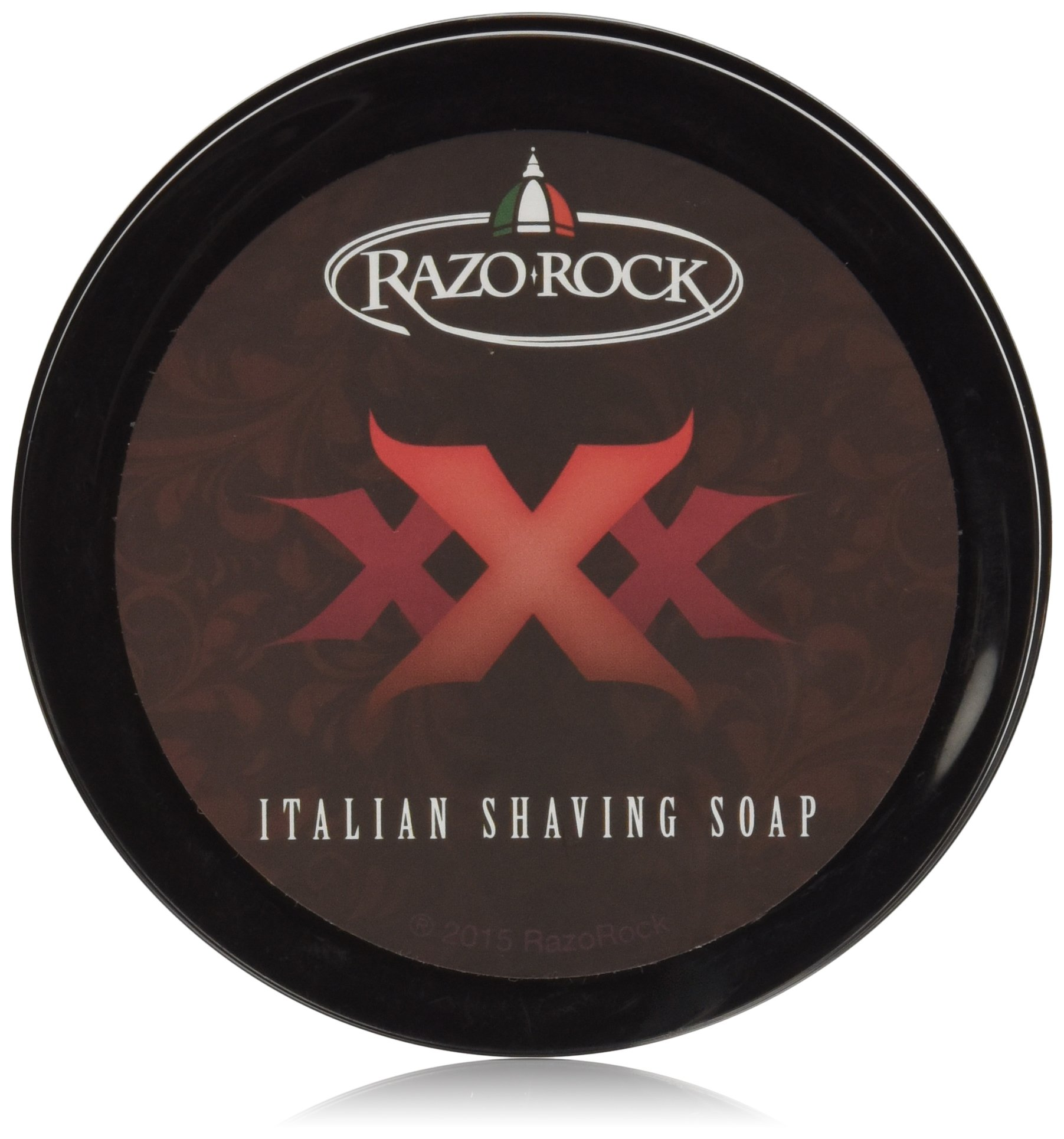 RazoRock XXX Artisan Shaving Soap, 125 ML (4.2 Oz)