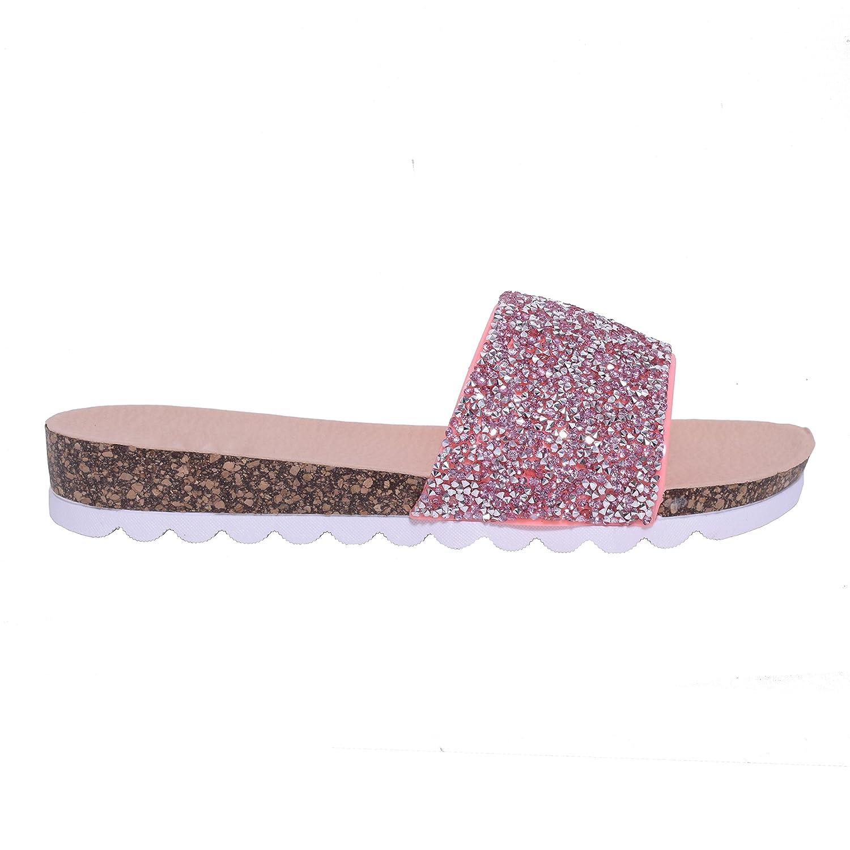 afa12bff0eb LAW Shoes   Clothing Sandalias de Vestir de Purpurina Para Mujer 85% OFF