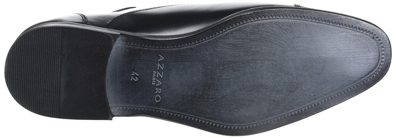 Azzaro Herren 02) Rael Oxfords Schwarz (Noir 02) Herren 7100ce