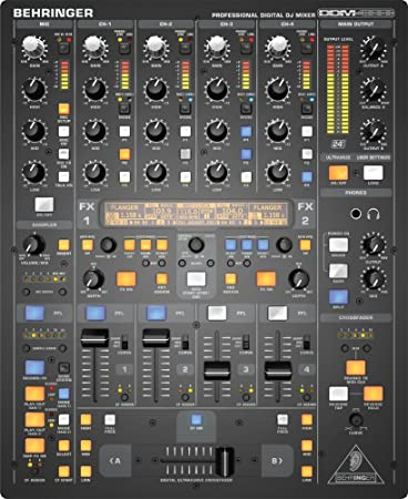 front facing behringer digital pro ddm4000