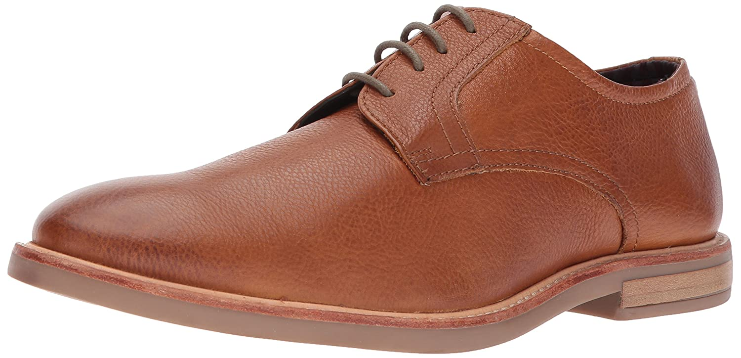 Ben Sherman Mens Birk Plain Toe Oxford Shoe