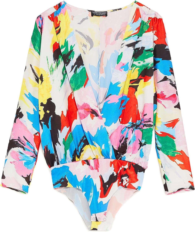 Zara - Camisas - para mujer multicolor S: Amazon.es: Ropa y ...