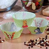 Winnie The Pooh Character 80PC Cupcake Paper Cases For Kids Birthday Party HITLINEUK