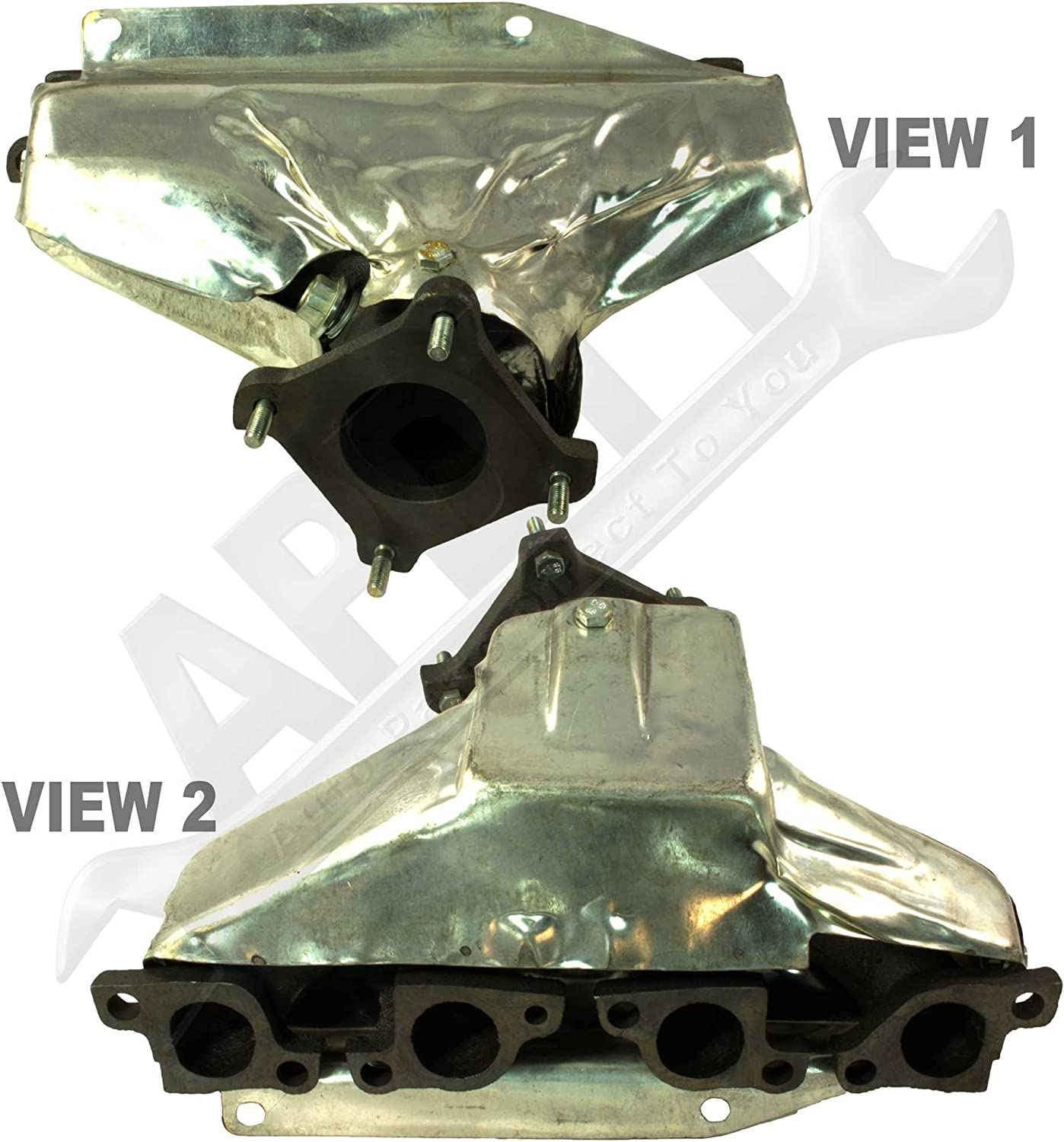APDTY 112509 Exhaust Manifold Cast Iron Assembly Fits 1995-1999 Dodge Neon w//2.0L Engine 8th Digit Of VIN C // 1996-1997 Plymouth Breeze w//2.0L Engine // 1995-1999 Plymouth N // 1995-1997 Dodge Stratus w//2.0L Engine 8th Digit Of VIN C 8th Digit Of VIN C
