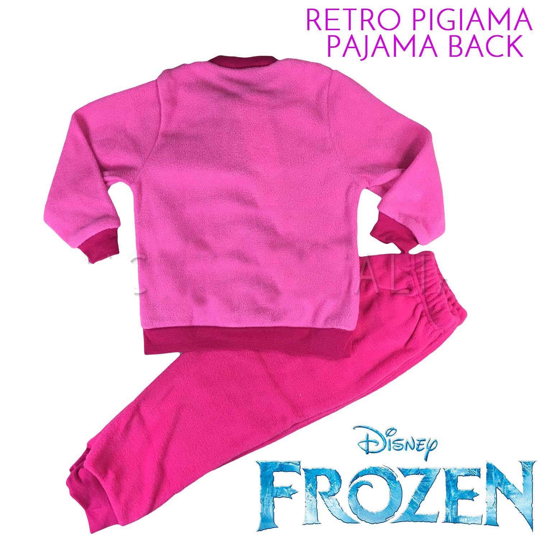 Hasbro Frozen Disney Pigiama Bimba Pile Soffice e Caldo con Polsini