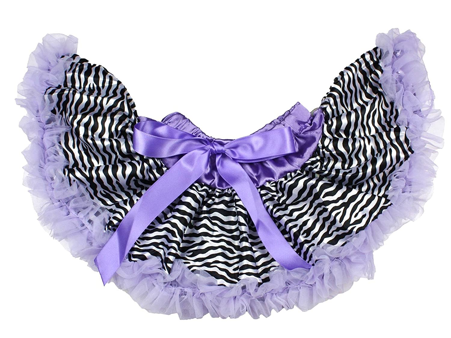 Lavender Zebra Newborn Baby Pettiskirt Skirt Tutu Dress Girl Clothing Nb-12m