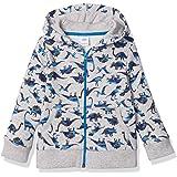 Amazon Essentials Boys' Fleece Zip-up Hoodie Sweatshirt