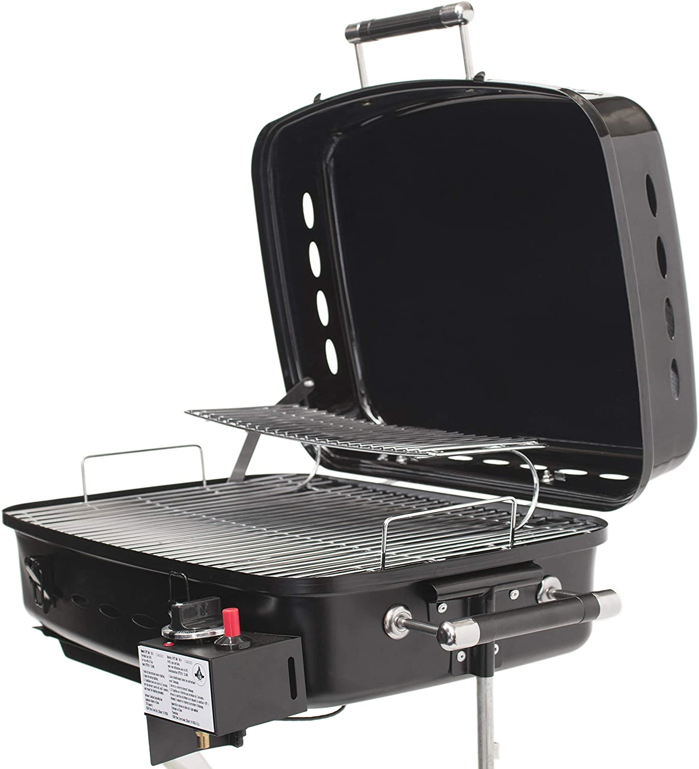 Flame King RV Or Trailer Mounted BBQ Gas Grill