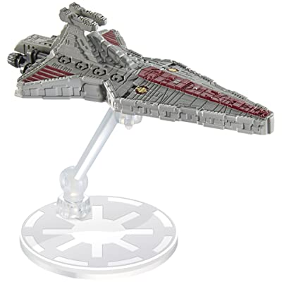 Hot Wheels Star Wars Rogue One Starship Republic Attack Cruiser Vehicle: Toys & Games [5Bkhe0203043]