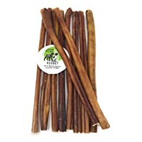 Sancho & Lola's Bully Sticks for Dogs -12-Inch Moderate Odor High-Protein Grain-Free Beef Pizzle Dog Chews