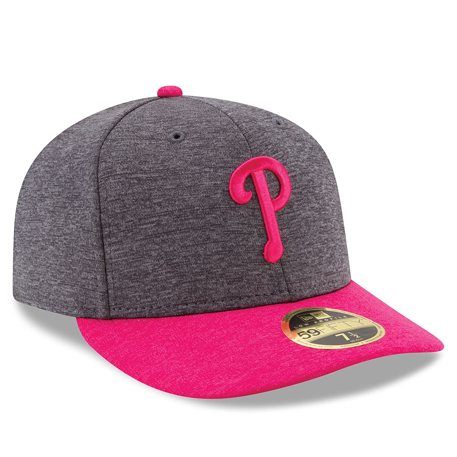 4eb480f734436 Amazon.com  New Era MLB Low Profile 59Fifty Philadelphia Phillies 2017  Mother s Day On Field Fitted Cap