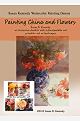 Painting China and Flowers in Watercolor (Susan Kennedy Watercolor Painting Demos)