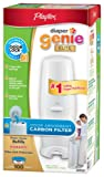 Amazon Price History for:Playtex Genie Elite Pail System Diaper with Odor Lock Carbon Filter, 100 Count