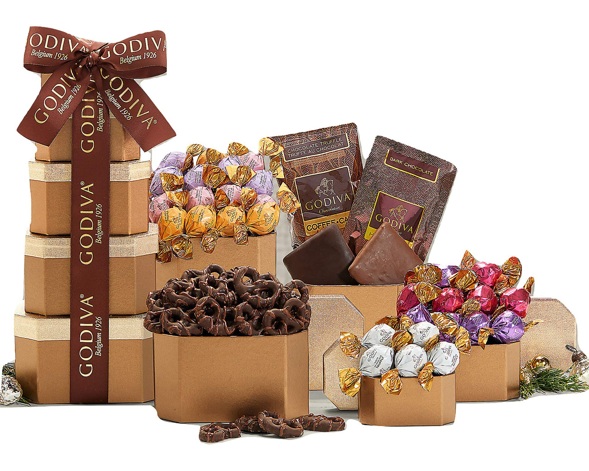 Remarkable Gift Co. Special Godiva Chocolate Gift Tower by Remarkable Gift Co.