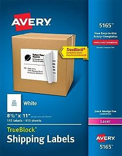 amazon com avery shipping address labels inkjet printers 100