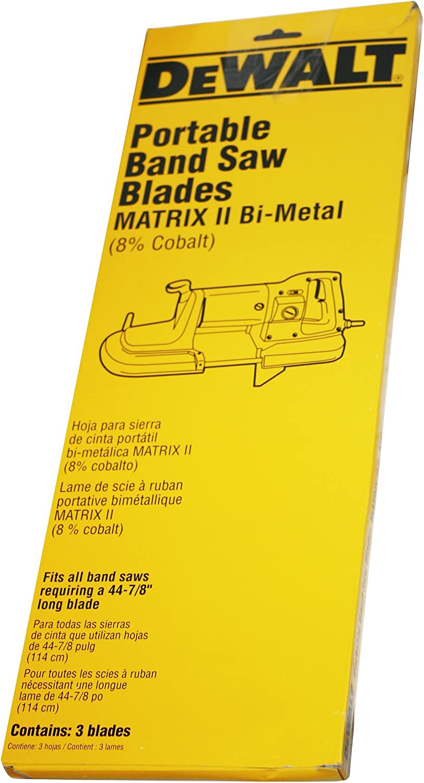 DEWALT DW876 bandsaw Blade 3//8 Inch X 10 TPI