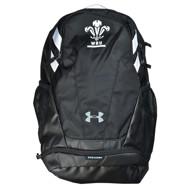 Under Armour 2018-2019 Wales WRU UA Hustle Backpack (schwarz)