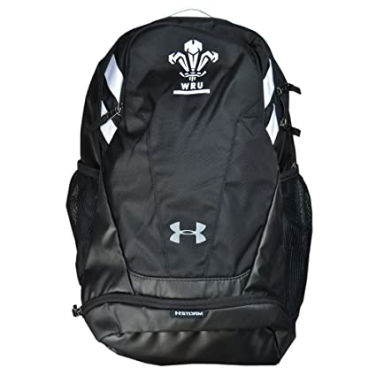 Amazon.com  Under Armour 2018-2019 Wales WRU UA Hustle Backpack ... 6f299dffaeb8d