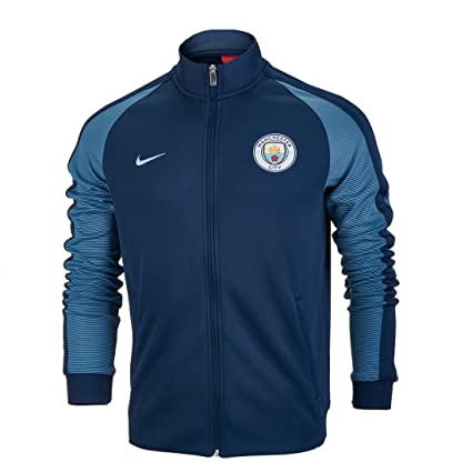 : Nike Manchester City Authentic Track Jacket