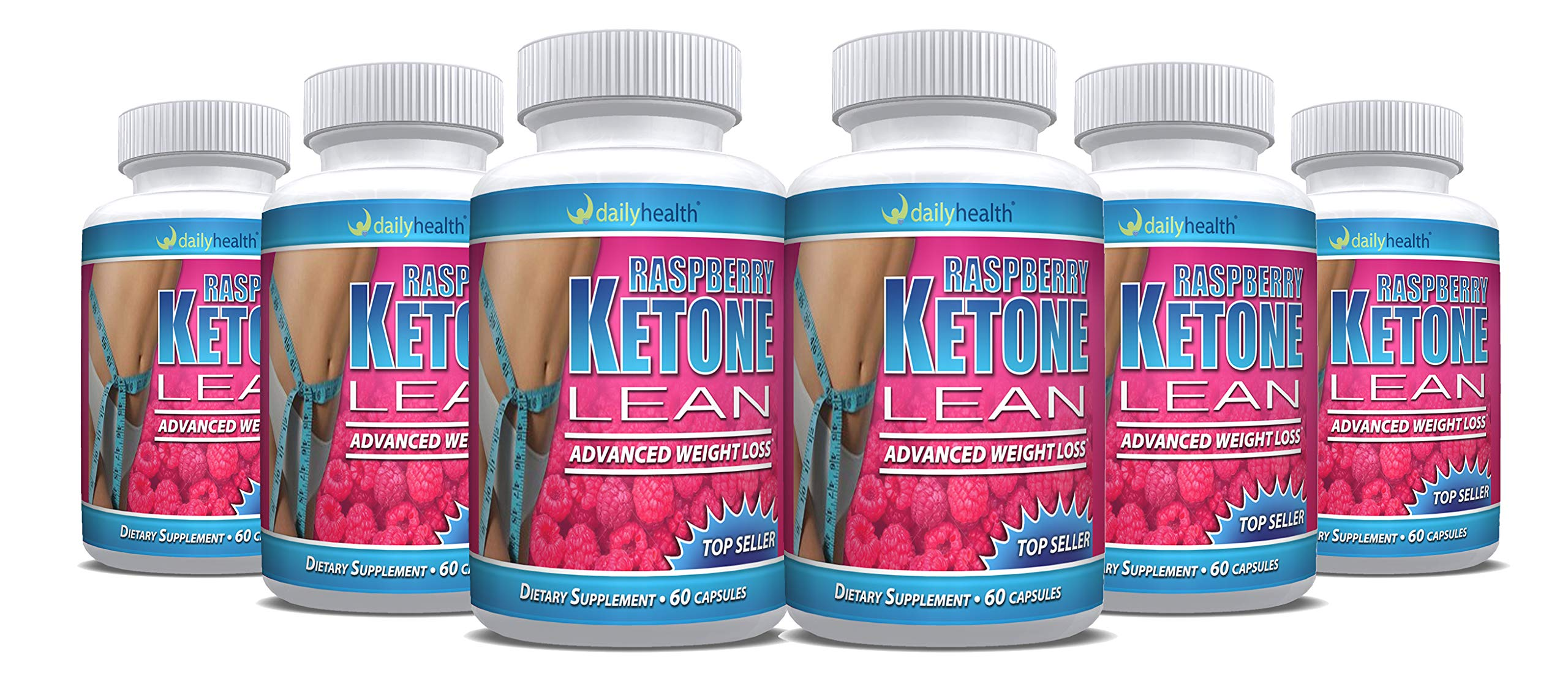 Raspberry Ketones Lean African Mango Blend 1200 mg per Serving 60 Capsules Weight Loss Diet Management Support Supplement (6)