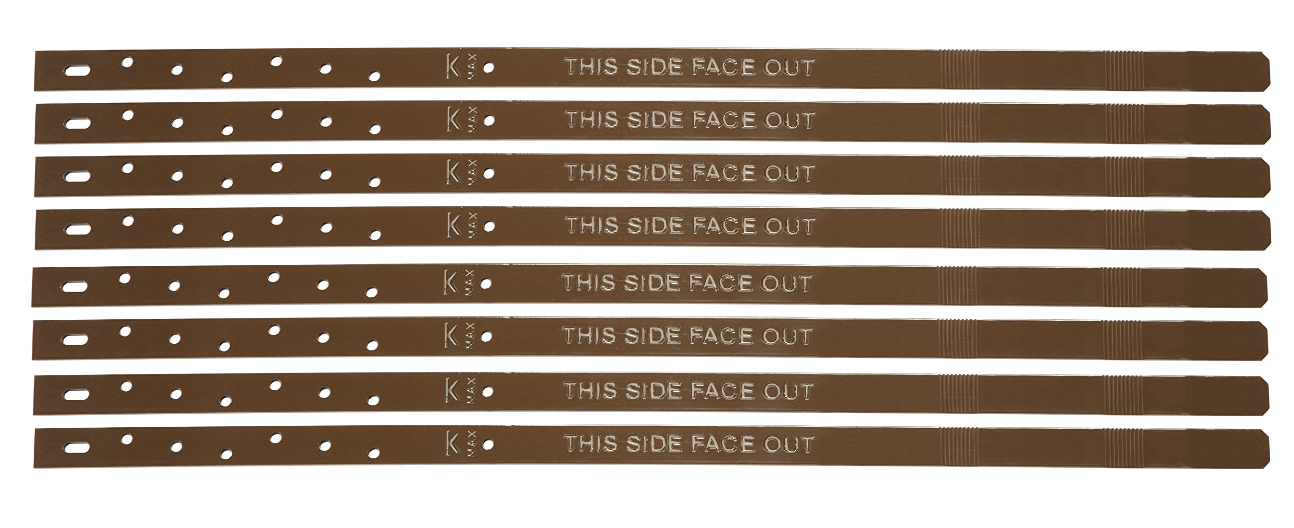 Post Buddy Pack of 8 Fence Post Repair Stakes (To Fix 4 Broken Posts)