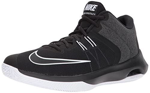 sports shoes ce931 ba0c7 Nike Men s AIR Versitile II Black White Basketball Shoes-9 UK India (