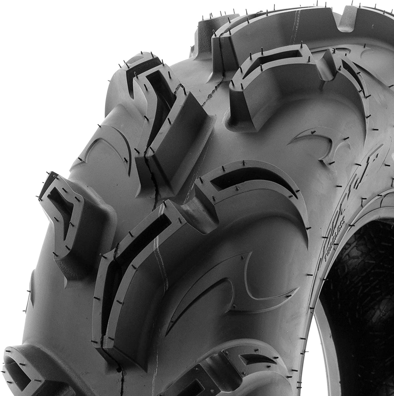 1.18 Tread Depth 6PR SunF Warrior AT-Mud /& Trail ATV//UTV Tire 26x11-12