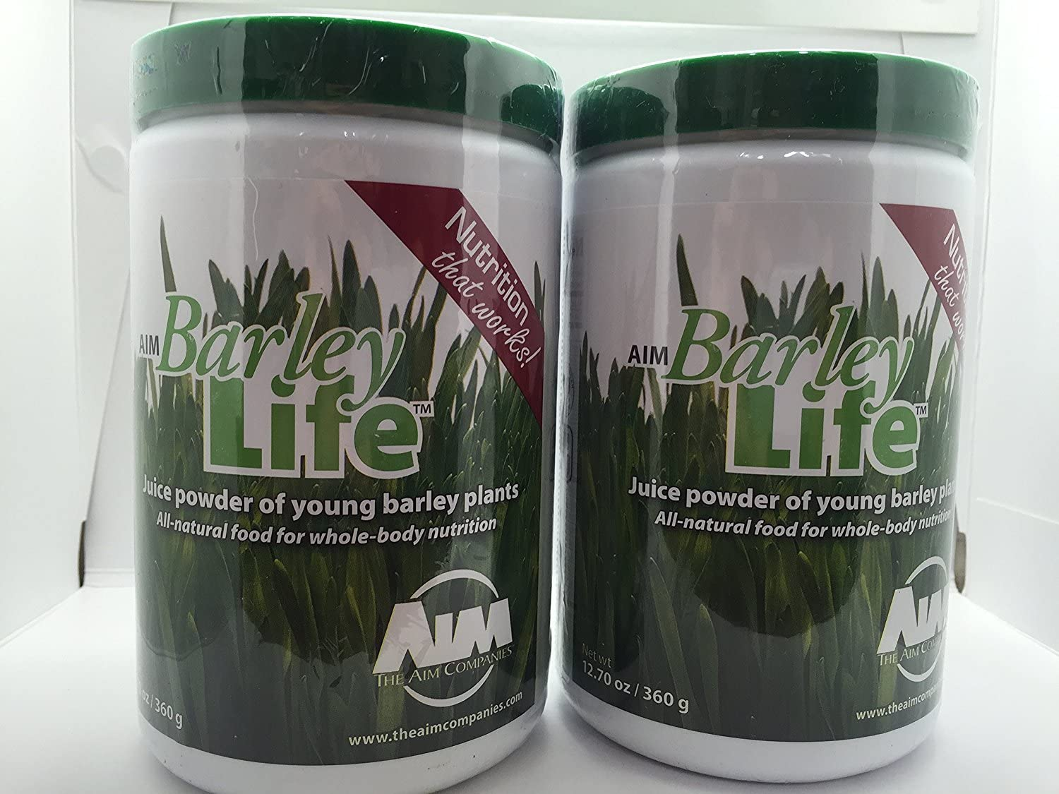 AIM BarleyLife – Family Size 12.7 oz Barley Grass Powder 2