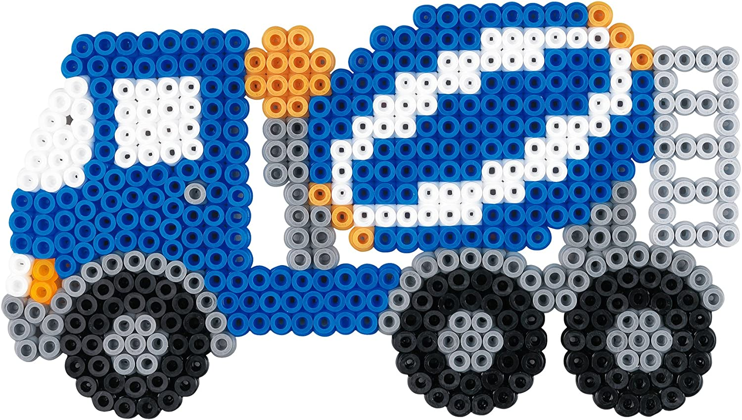 Police Car Hama Beads Hama 3418 Kit Basteln