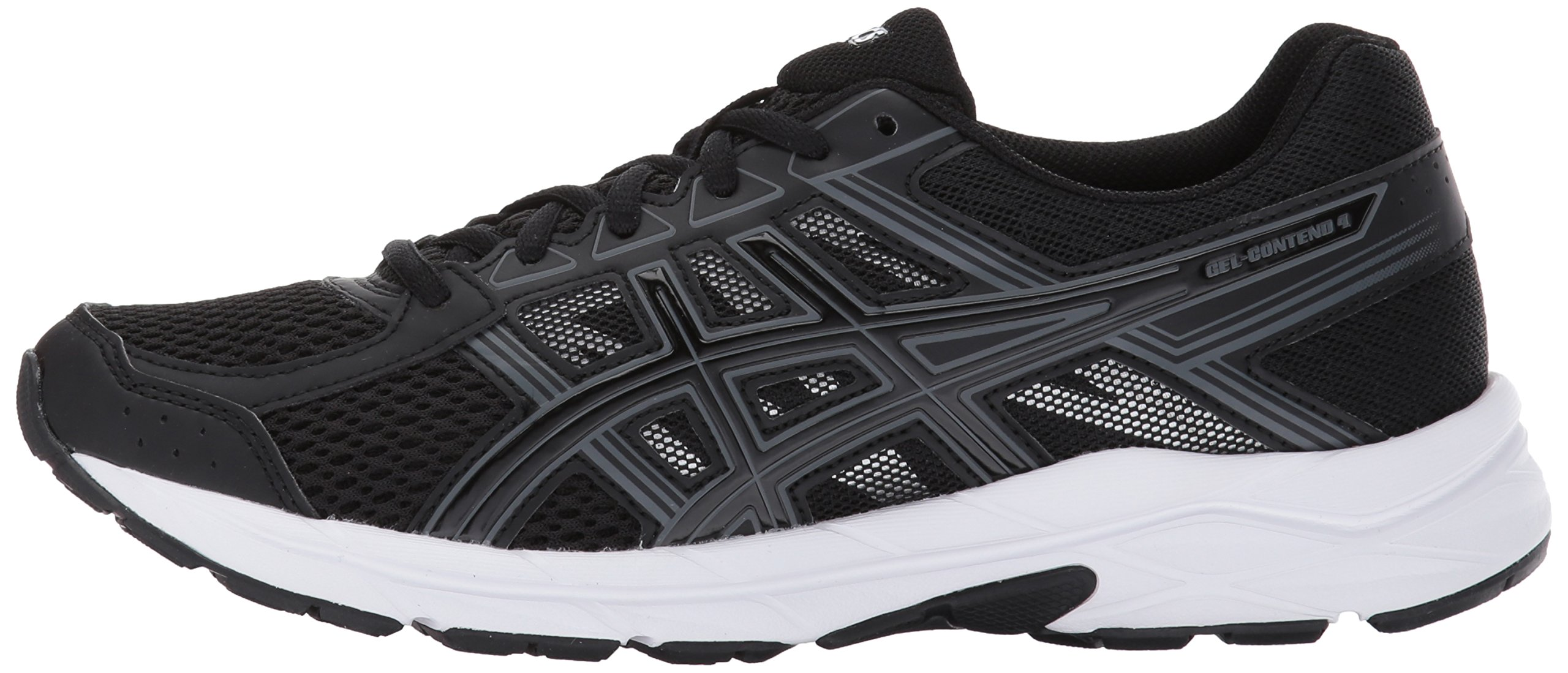 ASICS Womens Gel-Contend 4 Running Shoe, Black/Carbon, 6 D US by ASICS (Image #5)