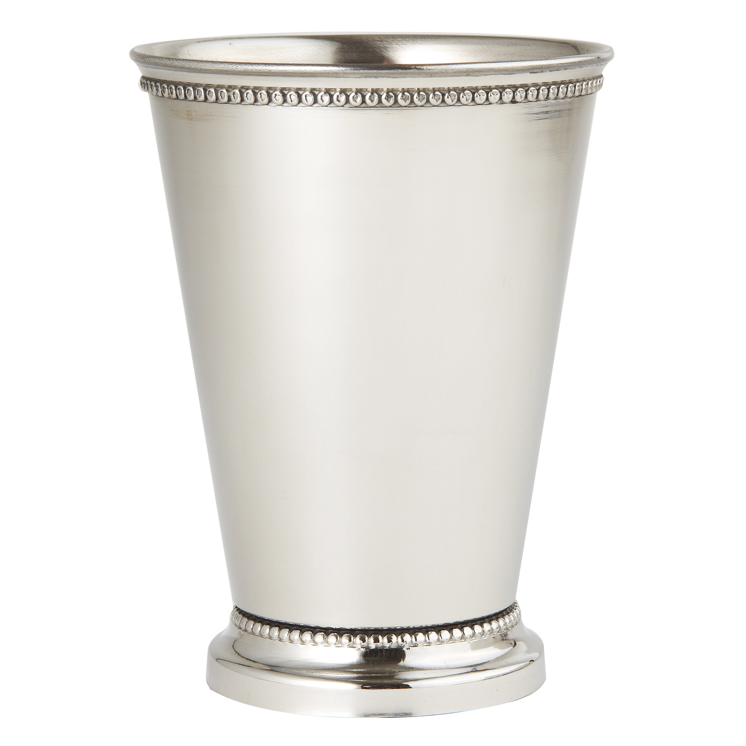 Elegance Beaded Mint Julep Cup - 12 oz. - 4 1/2''