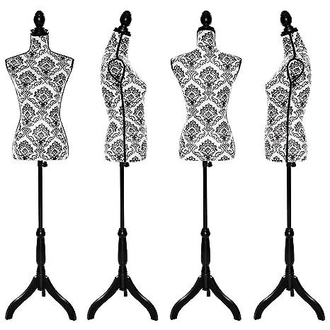 Maniquí de Costura 133-168 cm, maniquí para Mujer, Dominiti ...