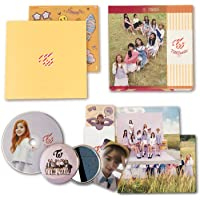 TWICE 3rd Mini Album - TWICECOASTER : LANE 1 [ APRICOT Ver. ] CD + Photobook + Photocards + Sticker + FREE GIFT / K-pop Sealed