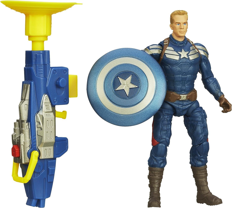 GRAPPLE CANNON CAPT AMERICA Action Figure Marvel Captain America Winter Soldier