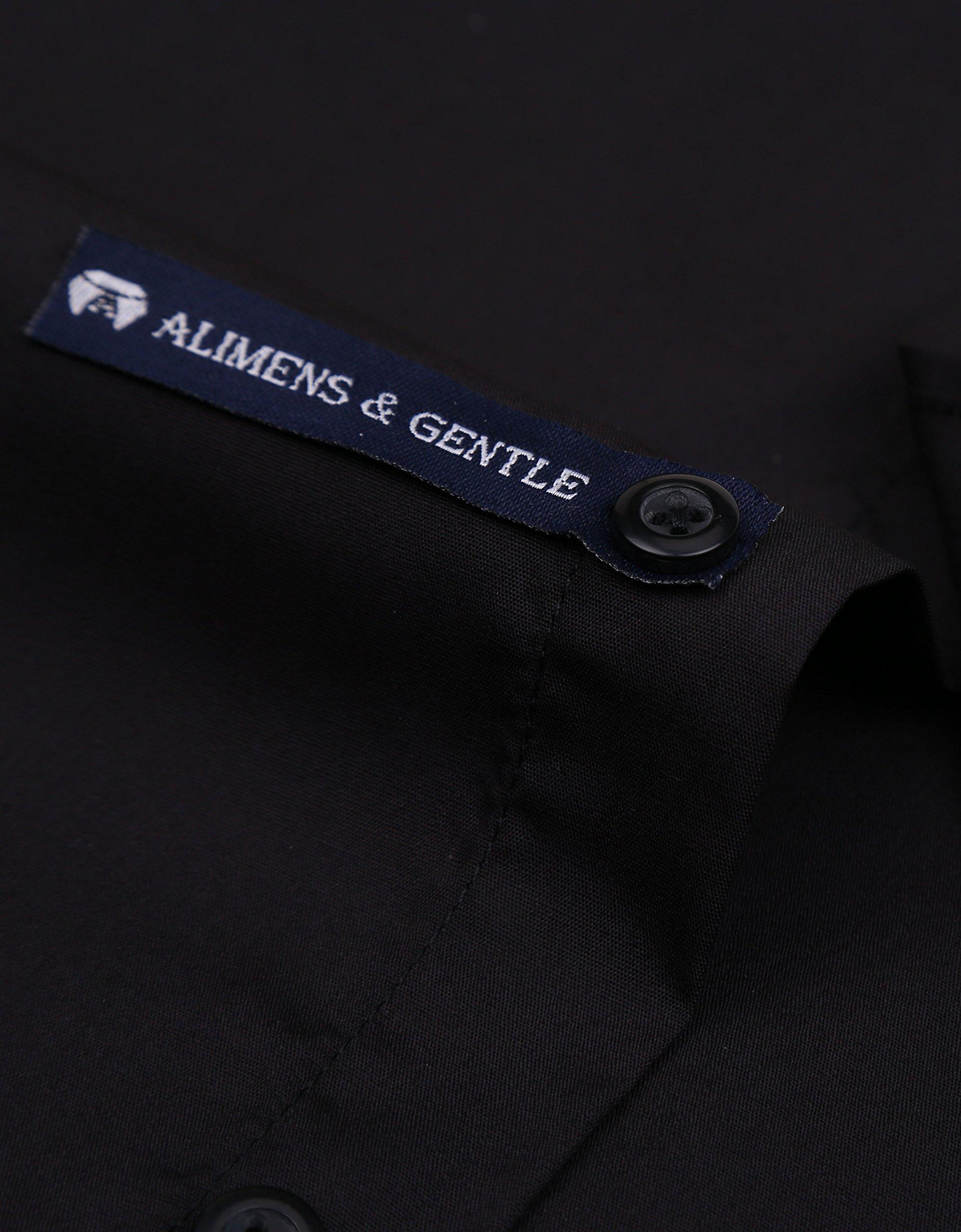 336099710e9 Alimens   Gentle French Cuff Regular Fit Dress Shirts (Cufflink Included)  (16.5