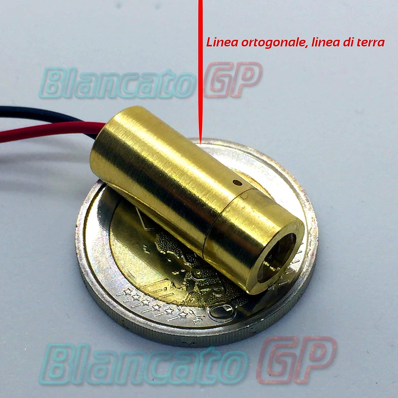 Module laser 650nm rouge collimateur ligne ortogonale Driver APC 3V 4.5V Diode BlancatoGP