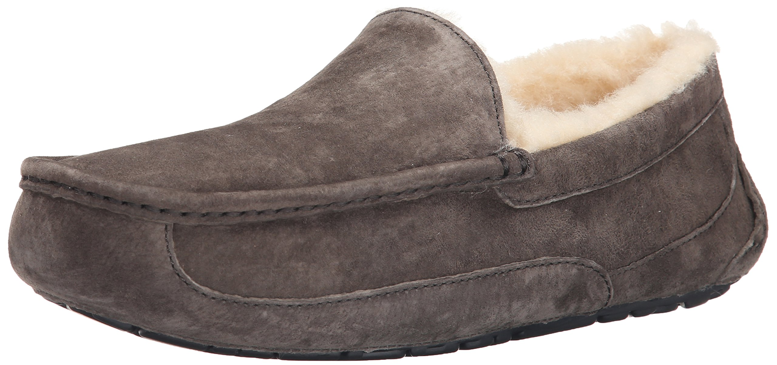 UGG Men's Ascot Slipper, Charcoal, 10 M US by UGG
