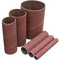 "POWERTEC 11200X Sanding Sleeves, 4-1/2"", 120 Grit, 1/2"", 3/4"", 1"", 1-1/2"", 3"", 6Pk"
