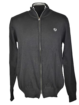 Fred Perry Classic Cotton Zip Cardigan Größe M: