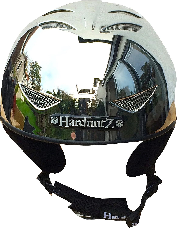 HardNutz casque de ski et de snowboard/ /Argent chrom/é adultes et enfants
