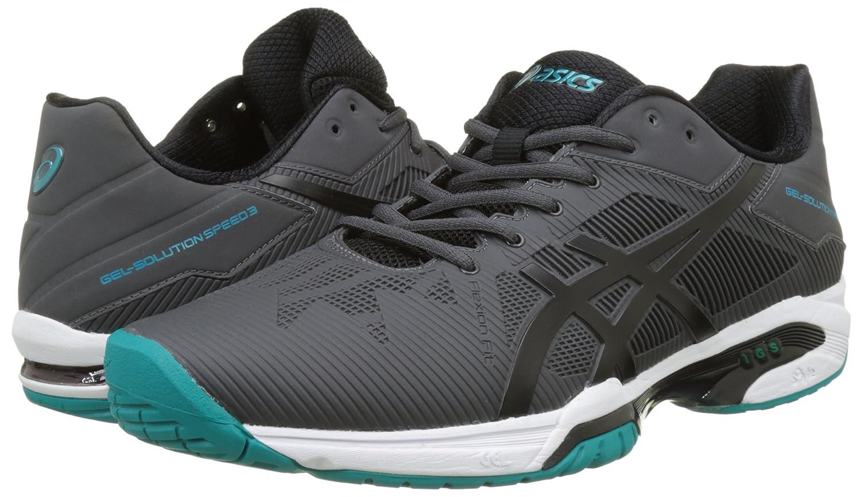 Asics Gel-Solution Speed 3, Zapatillas de Tenis Hombre, Gris ...
