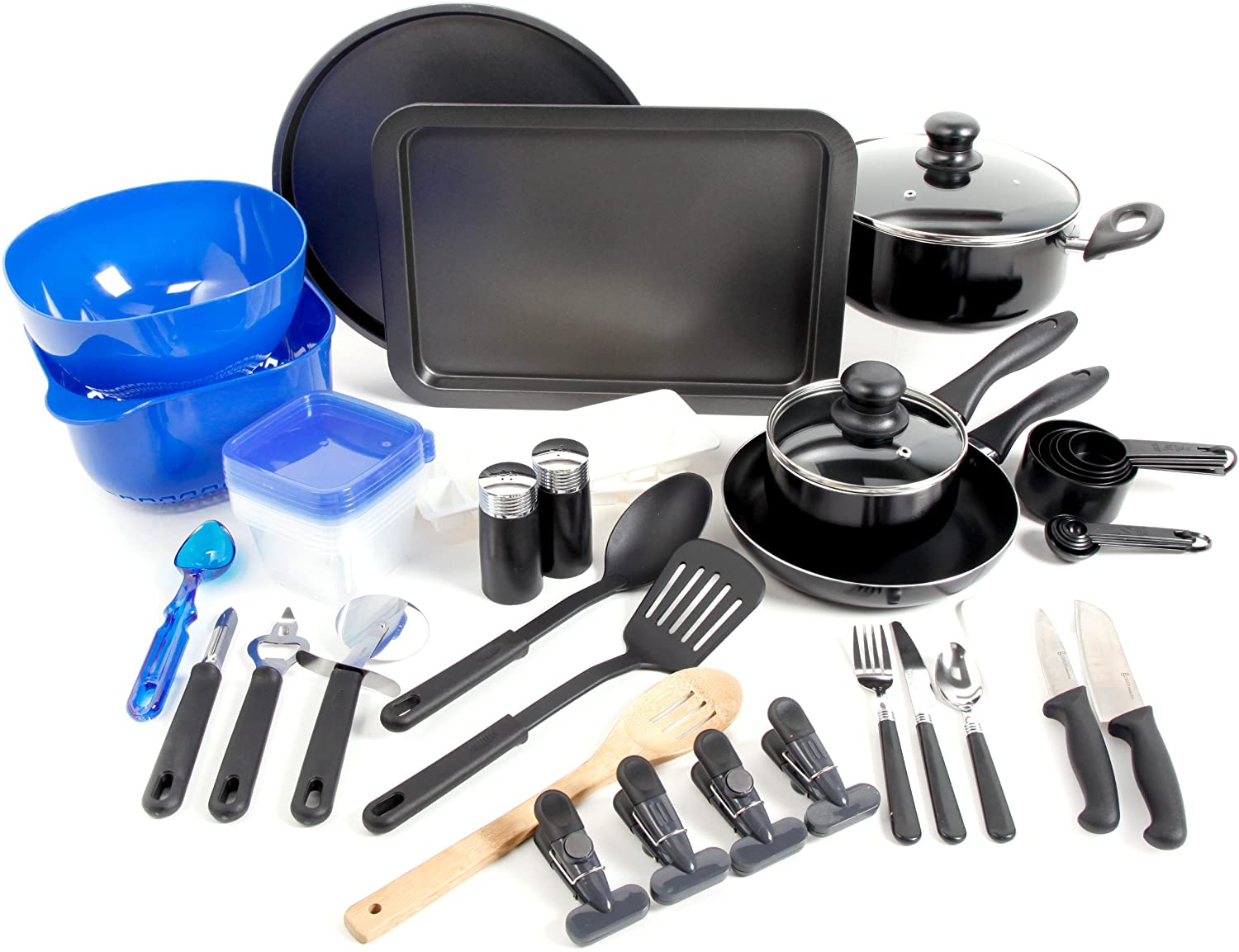 Gibson Home 91923.59 Total Kitchen 59-Piece Combo Set Gibson Overseas Inc.