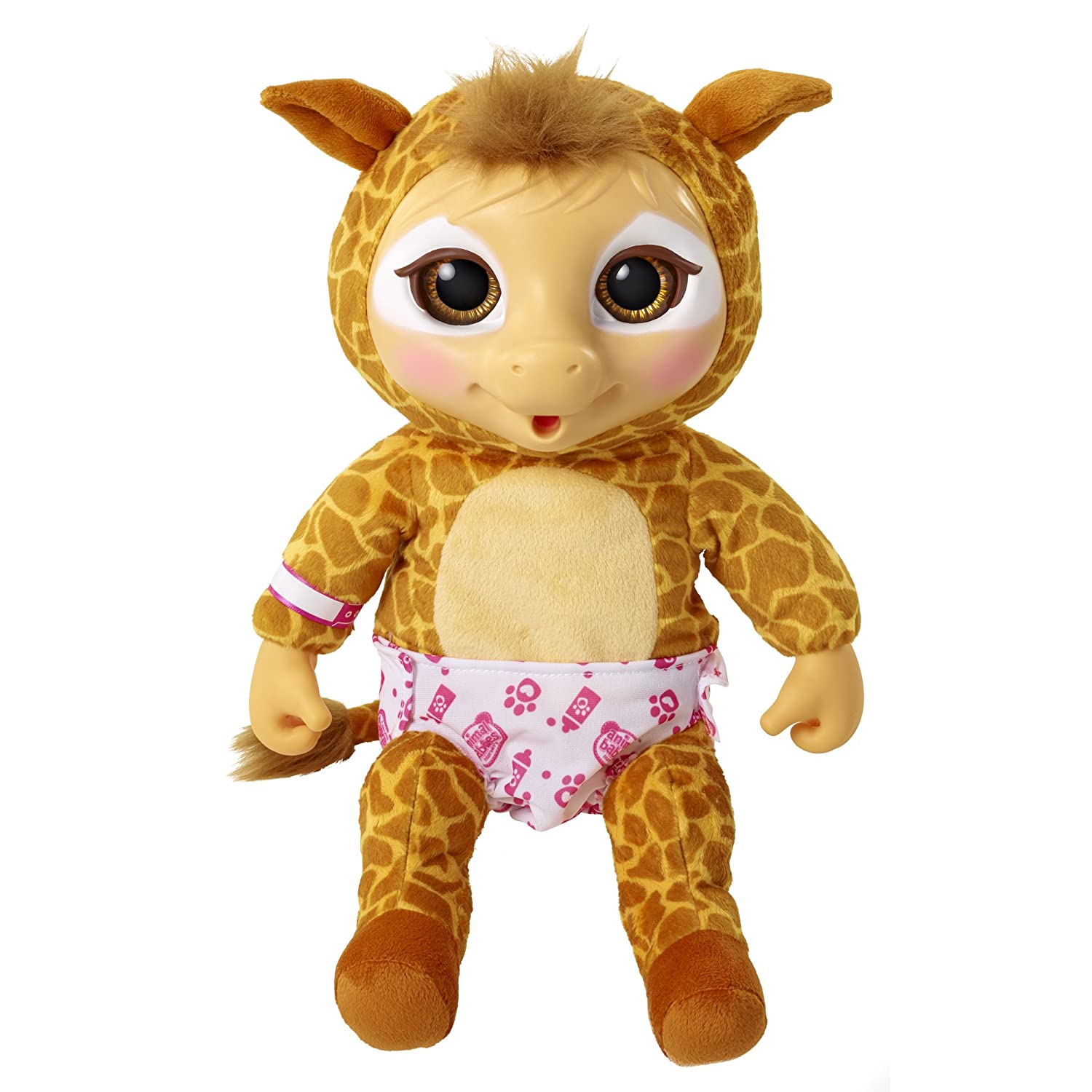 Animal Babies Deluxe Giraffe Amazon Toys & Games