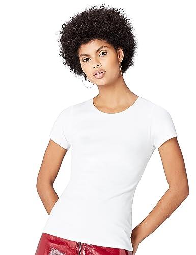 FIND T-shirt con Spalline Incrociate Donna