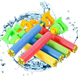 """Lucky Doug 6 PCS Foam Water Guns Set for Kids, 13.2"""" Water Squirt Guns Blaster Pool Toys for Kids Shooter Swimming Pool Party"""
