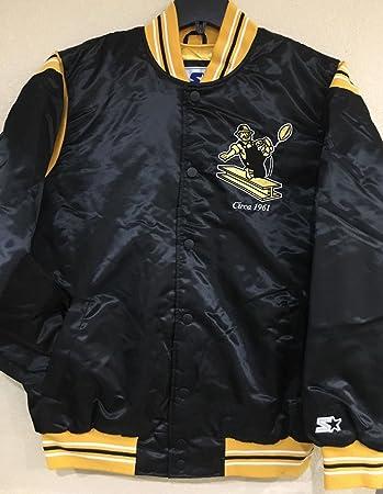 Pittsburgh Steelers NFL Men s Starter  quot The Enforcer quot  Premium Satin  Jacket(4XL) 2cb033670