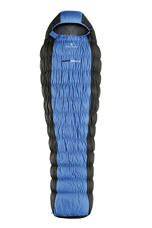 Ferrino Diable 1000 WTS Saco de Dormir, Color Azul, Azul