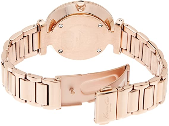 Amazon.com: Kenneth Cole New York Mens KC0019 Classic Analog Display Analog Quartz Rose Gold Watch: Kenneth Cole: Watches