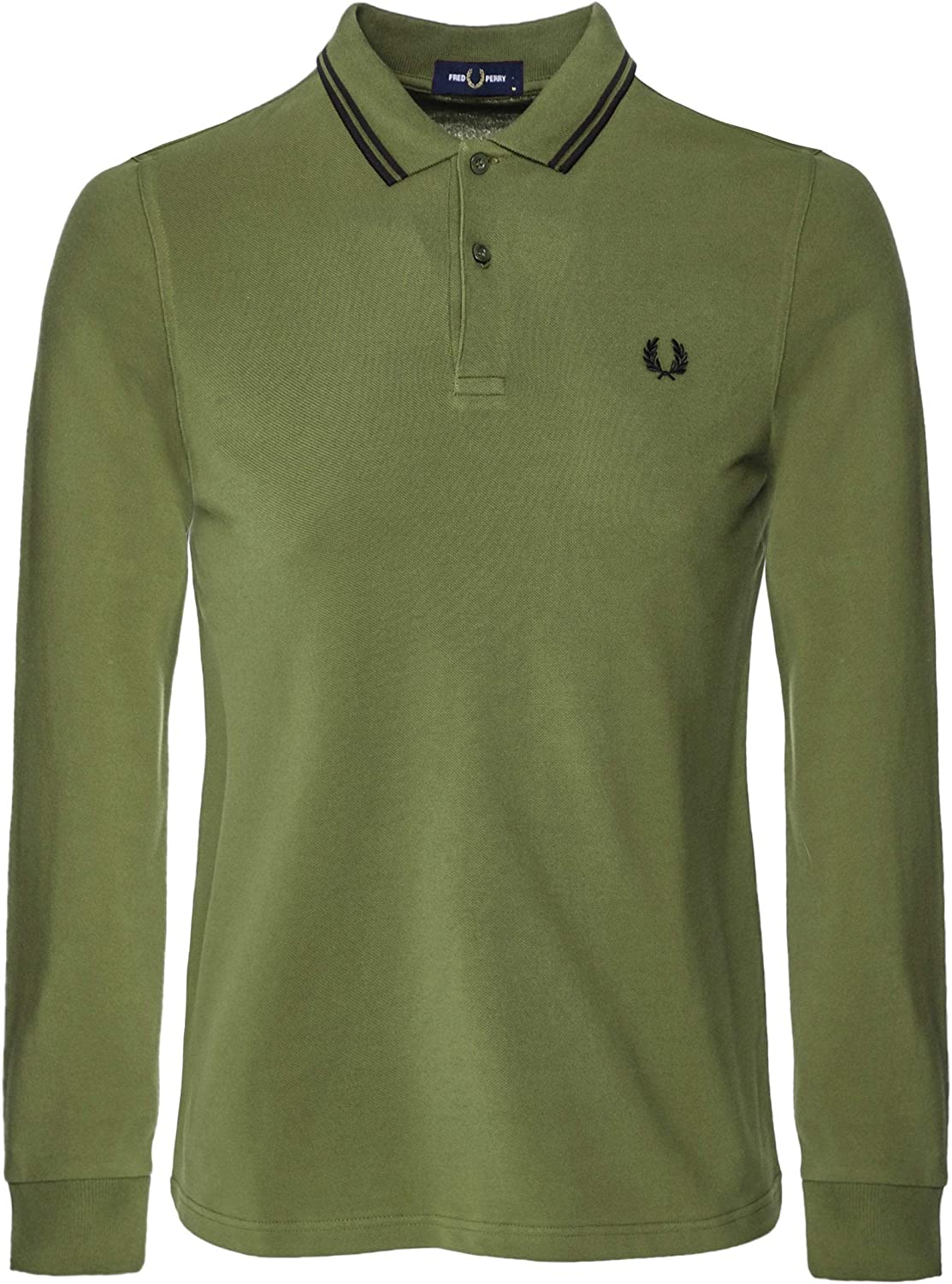 Fred Perry Fp LS Twin Tipped Shirt Camiseta térmica para Hombre ...