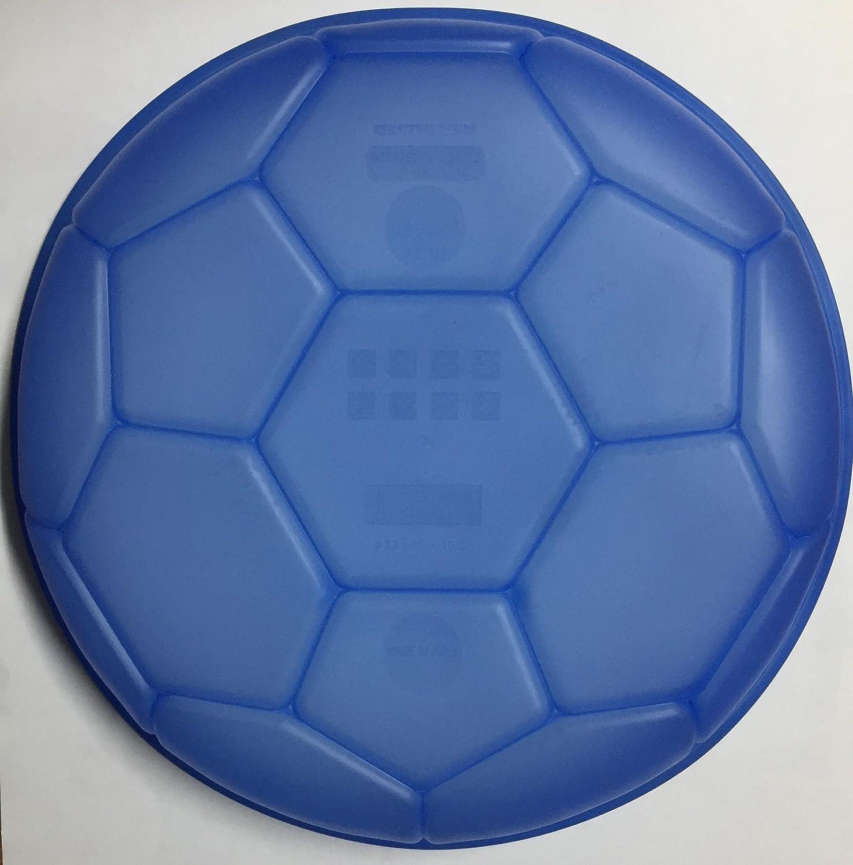 Pavoni Molde de Silicona Forma balón de fútbol,, 27 x 27 x 4,5 ...